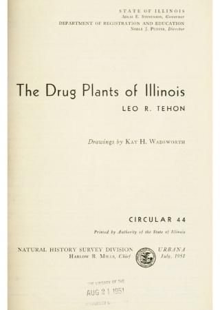 The drug plants of Illinois