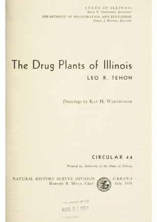The drug plants of Illinois