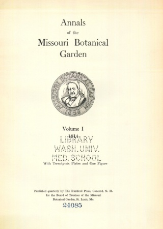 Annals of the Missouri Botanical Garden