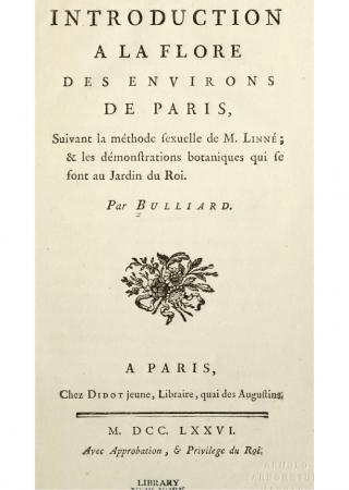 Flora Parisiensis, ou, Descriptions et figures des plantes qui croissent aux environs de Pari