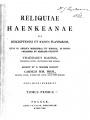 Reliquiae Haenkeanae