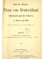 Flora von Deutschland, Österreich und der Schweiz, in Wort und Bild, für Schule und Haus
